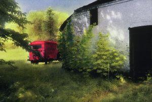 Svend Aage Kenlev - rød bil