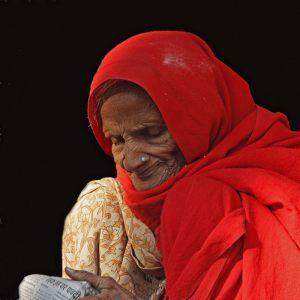 Den-roede-kone---Indien---Kirsten-Degn---KFAK