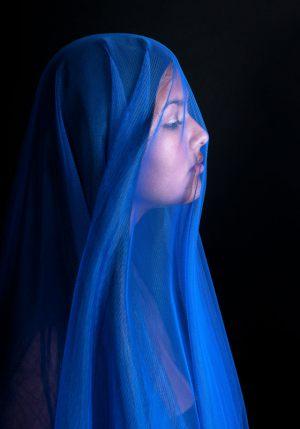 Maria-in-blue---Finn-Jacobsen---AFA