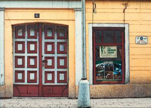 """Erik Jørgensen Negativ Roskilde """"Theresienstadt 1989"""" (serie, 5 af 6) Guld (eksp.)"""