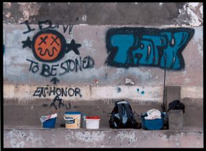 "Tage Blach Kern Rebæk Søpark Fotoklub ""Graffiti"" (serie, 1 af 8) Diplom"